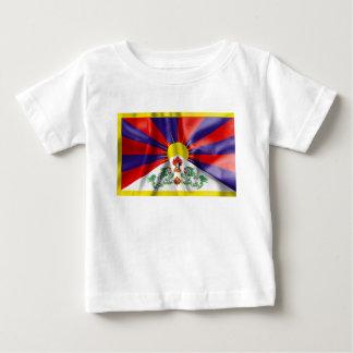 T-shirt Pour Bébé Drapeau du Thibet