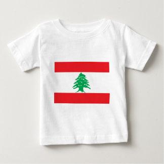 T-shirt Pour Bébé Drapeau libanais - drapeau de علملبنان du Liban