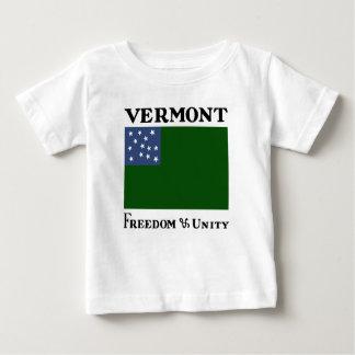 T-shirt Pour Bébé Drapeau vert de garçons de montagne de la