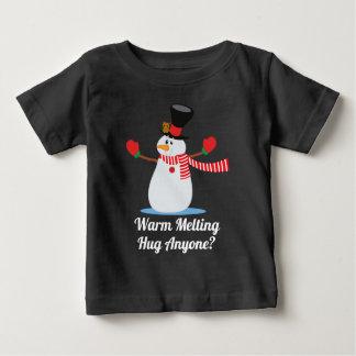T-shirt Pour Bébé Drôle chauffez la chemise de Noël | de bonhomme de