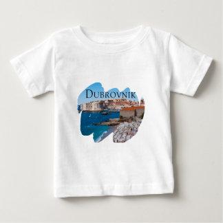 T-shirt Pour Bébé Dubrovnik avec une vue