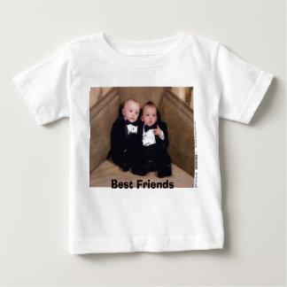 T-shirt Pour Bébé Dylan-Dan, meilleurs amis