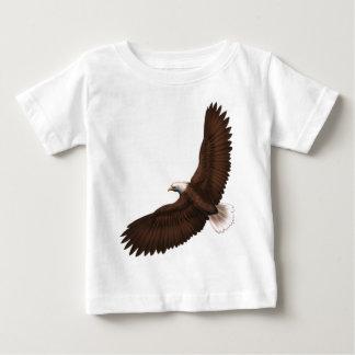 T-shirt Pour Bébé Eagle chauve montant