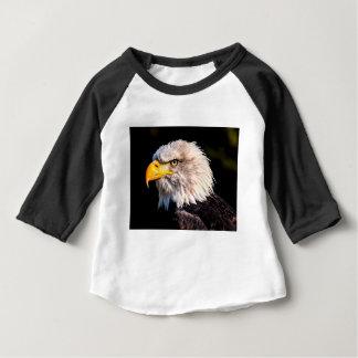 T-shirt Pour Bébé Eagle coupé la queue par blanc