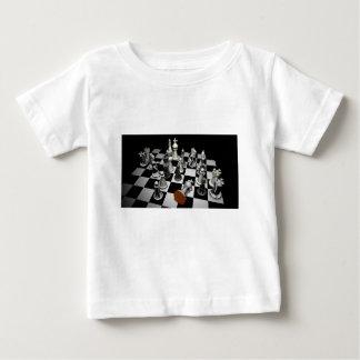 T-shirt Pour Bébé Échecs