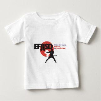 T-shirt Pour Bébé Ecole Française de JuJitsu et Self-Défense