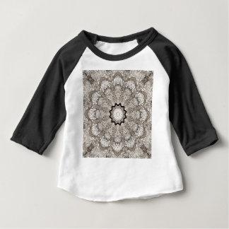T-shirt Pour Bébé Écorce d'arbre de kaléidoscope de Brown
