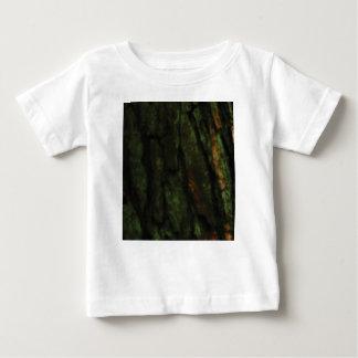 T-shirt Pour Bébé écorce d'arbre verte