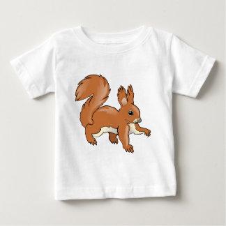T-shirt Pour Bébé Écureuil
