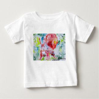 T-shirt Pour Bébé écureuil d'aquarelle