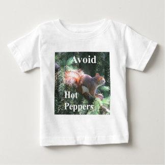 T-shirt Pour Bébé Écureuil rouge de queue