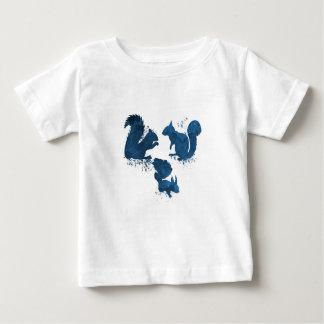 T-shirt Pour Bébé Écureuils