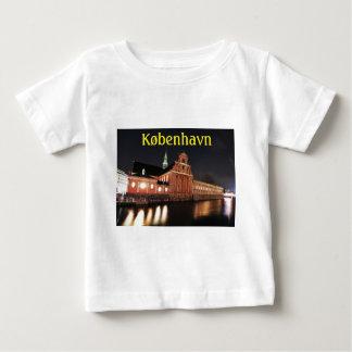 T-shirt Pour Bébé Église de Holmens (Kirke) à Copenhague, Danemark