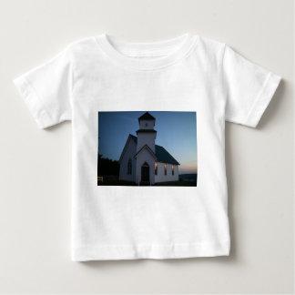 T-shirt Pour Bébé Église de pays