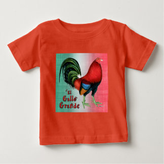 T-shirt Pour Bébé EL Gallo grand