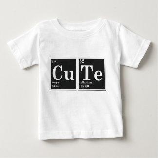 T-shirt Pour Bébé Éléments périodiques du CU TE