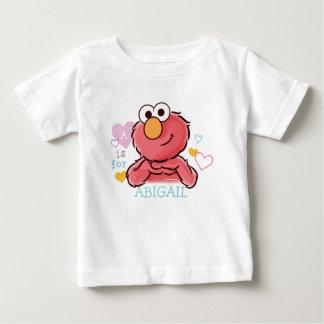 T-shirt Pour Bébé Elmo adorable | ajoutent votre propre nom