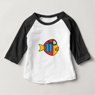 T-shirt Pour Bébé emballage des poissons