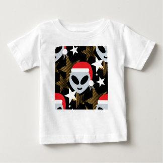 T-shirt Pour Bébé emoji d'alien de père Noël