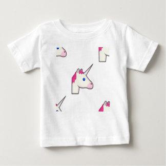 T-shirt Pour Bébé emoji de licorne
