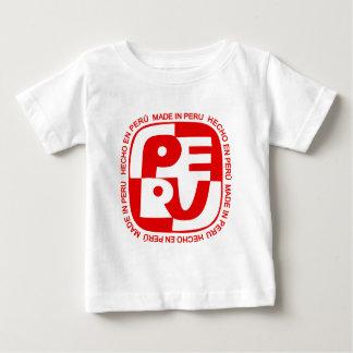 T-shirt Pour Bébé (En Pérou de Hecho) logo