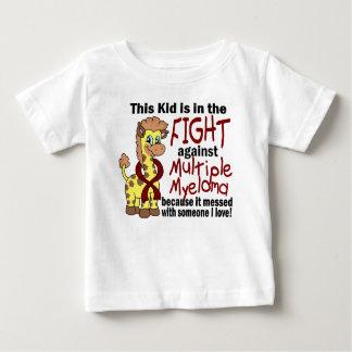 T-shirt Pour Bébé Enfant dans le combat contre le myélome multiple