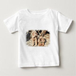 T-shirt Pour Bébé Épuisement - caniches - Romeo Remy