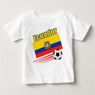 T-shirt Pour Bébé Équipe de football de l'Equateur