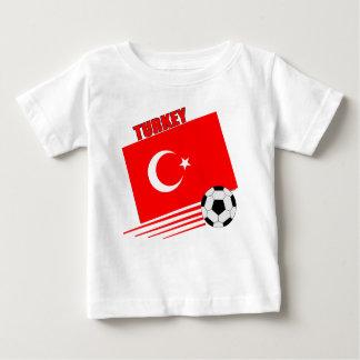T-shirt Pour Bébé Équipe de football turque