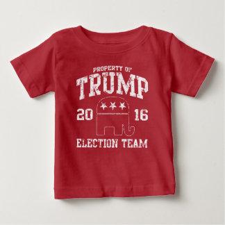 T-shirt Pour Bébé Équipe mignonne d'élection de républicain de