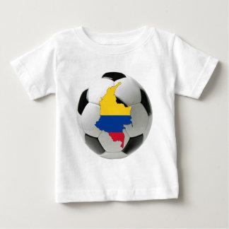 T-shirt Pour Bébé Équipe nationale de la Colombie