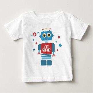 T-shirt Pour Bébé Ęr anniversaire de robot