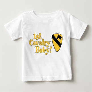 T-shirt Pour Bébé ęr Bébé de cavalerie !