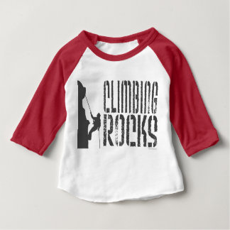 T-shirt Pour Bébé Escalade de roche