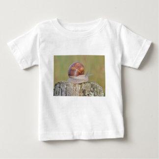 T-shirt Pour Bébé escargot