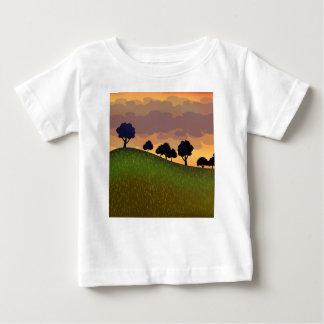 T-shirt Pour Bébé Été de paysage