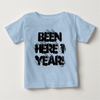 T-shirt Pour Bébé Été ici 1 an !