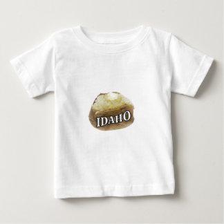 T-shirt Pour Bébé Étiquette de pomme de terre de l'Idaho