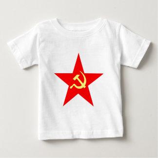 T-shirt Pour Bébé Étoile communiste