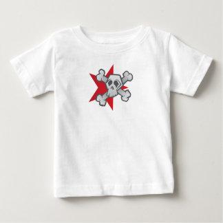 T-shirt Pour Bébé Étoile de crâne