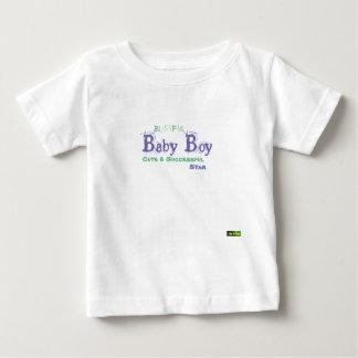 T-shirt Pour Bébé Étoile heureuse T/Shirt de bébé de concepteur