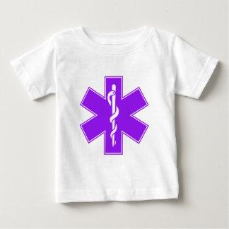 T-shirt Pour Bébé Étoile pourpre grise noire verte de l'infirmière