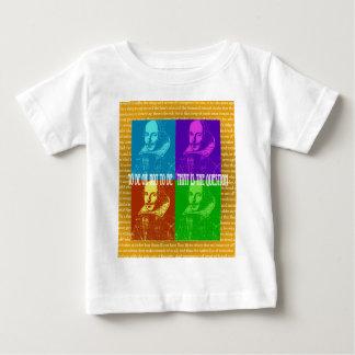 T-shirt Pour Bébé Être ou ne pas être