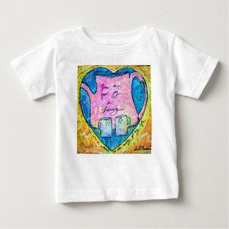 T-shirt Pour Bébé Étreintes dans un pot