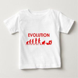 T-shirt Pour Bébé Évolution de Jiu Jitsu