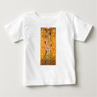 T-shirt Pour Bébé Extrémité de Gustav Klimt du mur