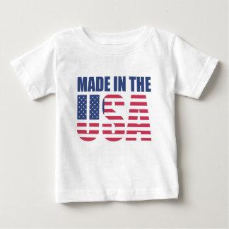 T-shirt Pour Bébé Fabriqué aux Etats-Unis