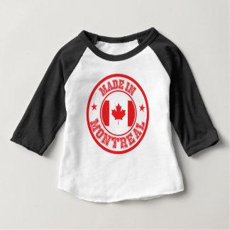 T-shirt Pour Bébé Fait à Montréal