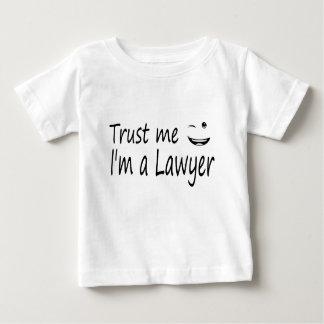 T-shirt Pour Bébé faites- confiancemoi