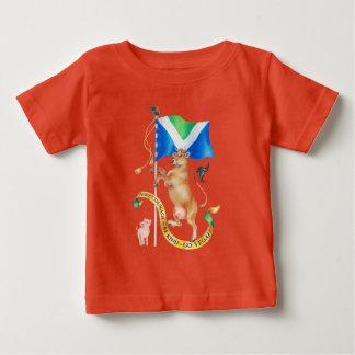 T-shirt Pour Bébé Faites être le courage aimable vont végétalien